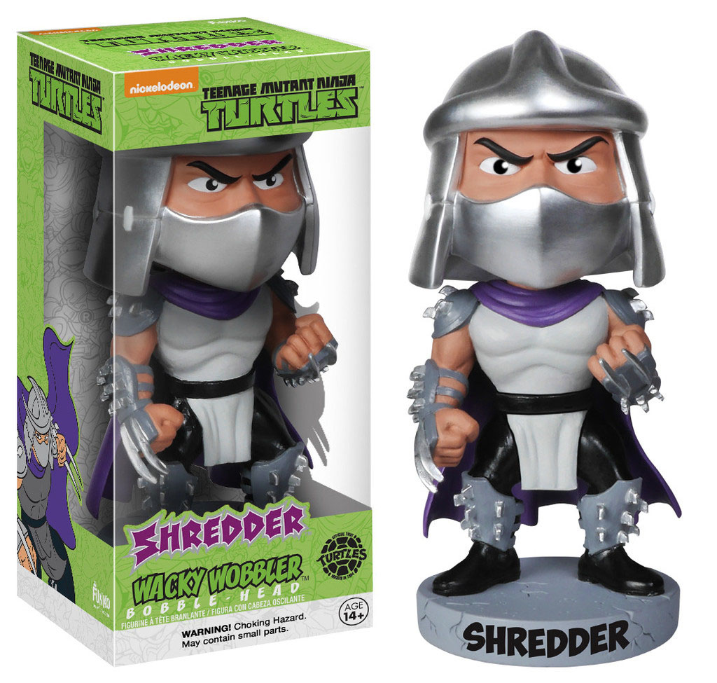 Teenage Mutant Ninja Turtles Wacky Wobbler Bobble-Head Shredder 18 cm