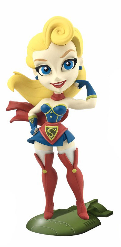 DC Comics Bombshells Vinyl Figure Supergirl 18 cm