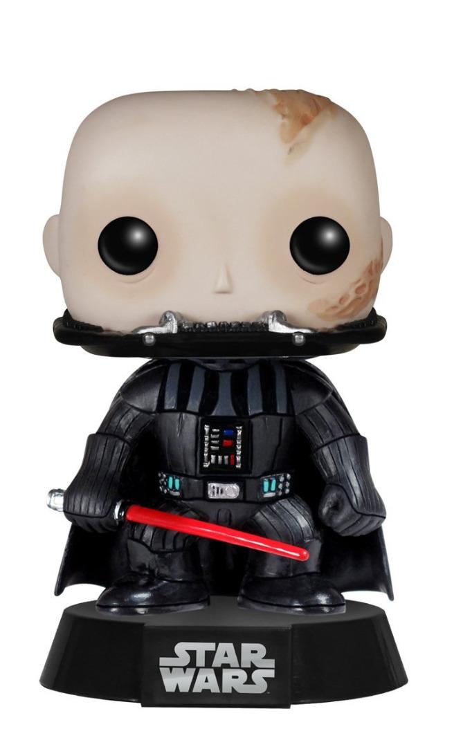 Figura Star Wars POP! Vinyl Bobble-Head Figure Unmasked Darth Vader 10 cm