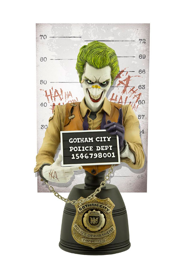 DC Comics Mugshot Bust The Joker 19 cm