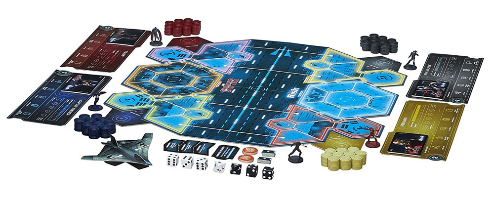 Captain America Civil War Board Game Risk
