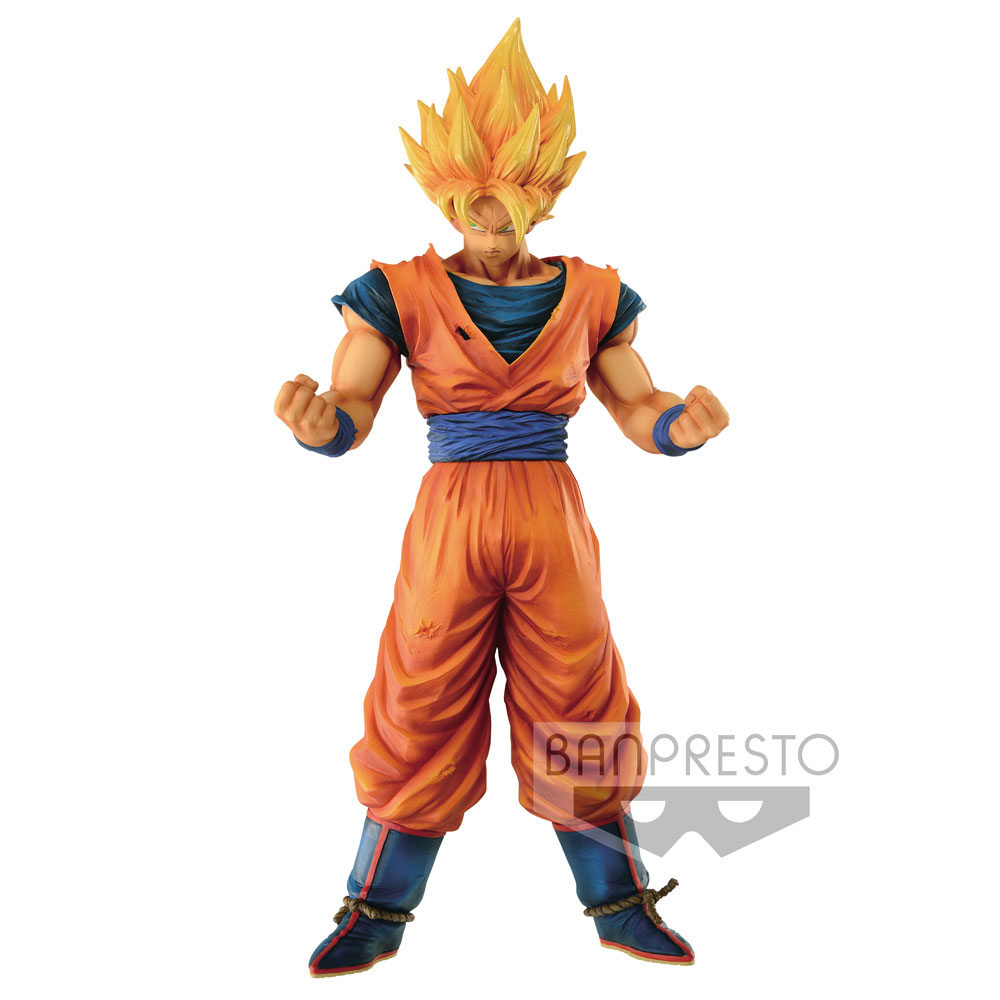 Dragonball Z Grandista Resolution of Soldiers Figure Son Goku 28 cm