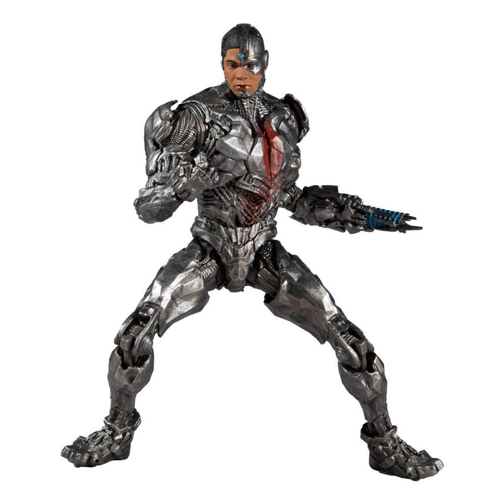 DC Justice League Movie Action Figure Cyborg 18 cm