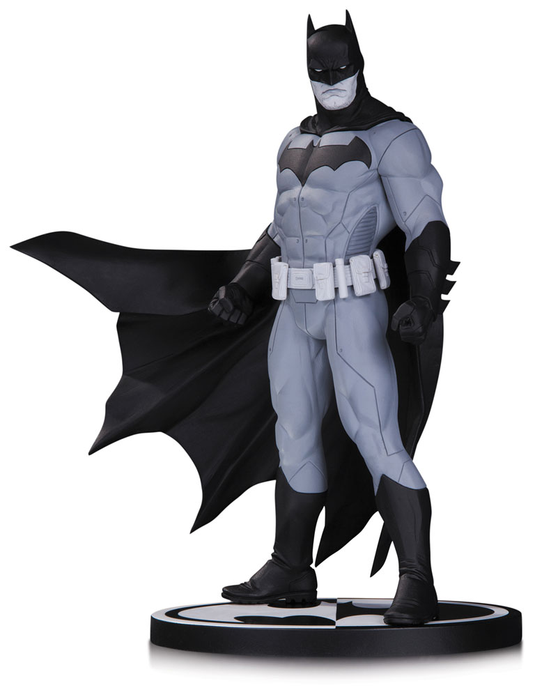Batman Black & White Statue Batman by Jason Fabok 18 cm