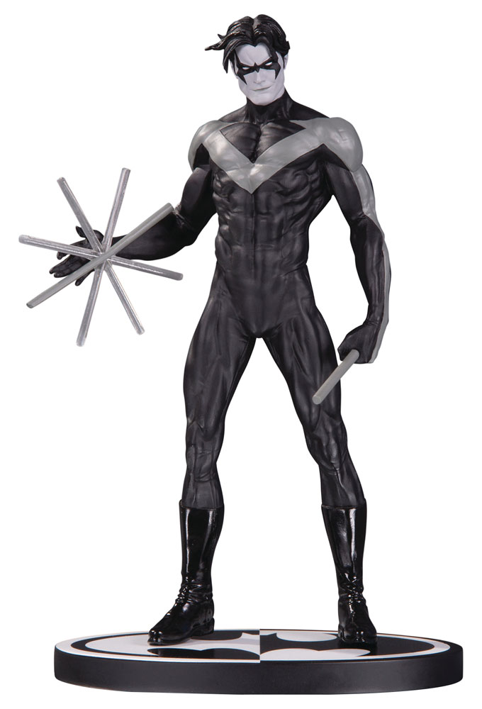 Batman Black & White Statue Nightwing by Jim Lee 19 cm