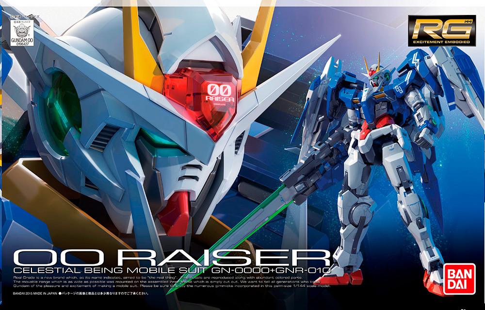 RG Real Grade OO Raiser + GNR 010 1/144