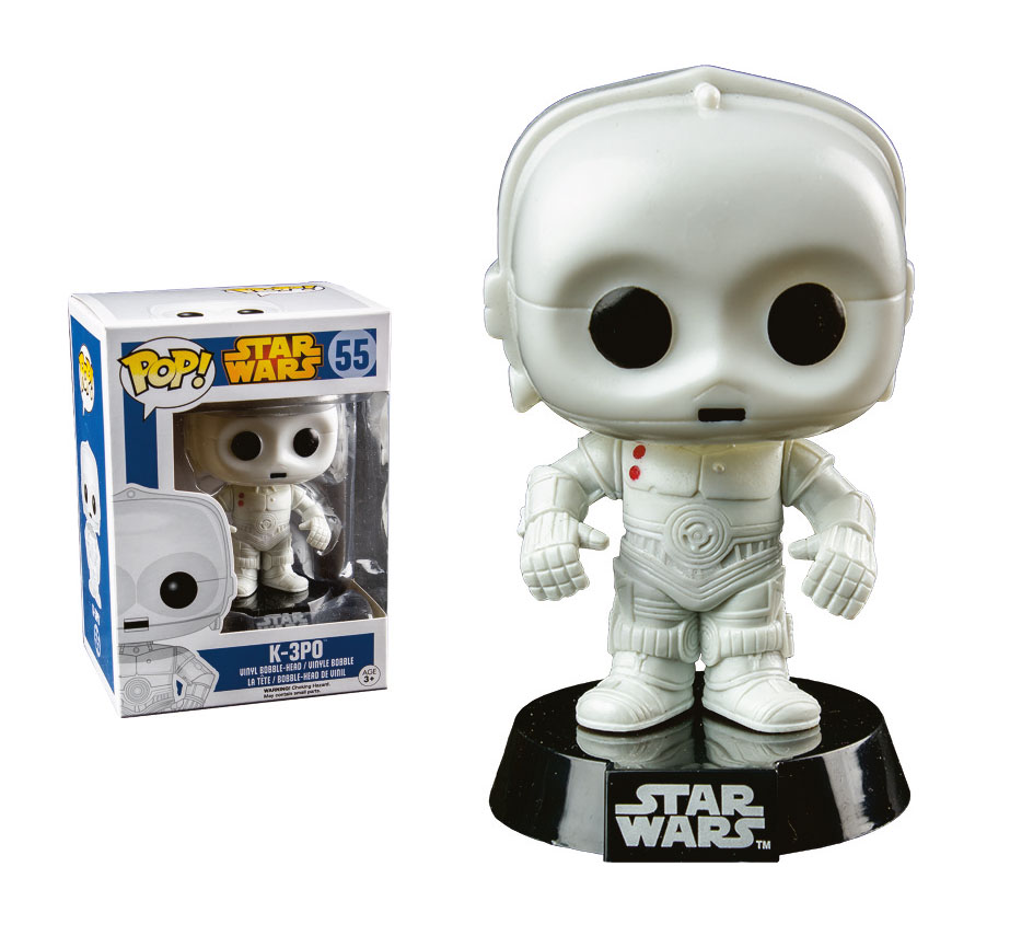 Star Wars POP! Vinyl Bobble-Head K-3PO Limited Edition 10 cm