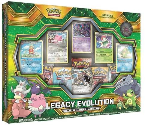 Pokémon Legacy Evolution Pin Collection (English)