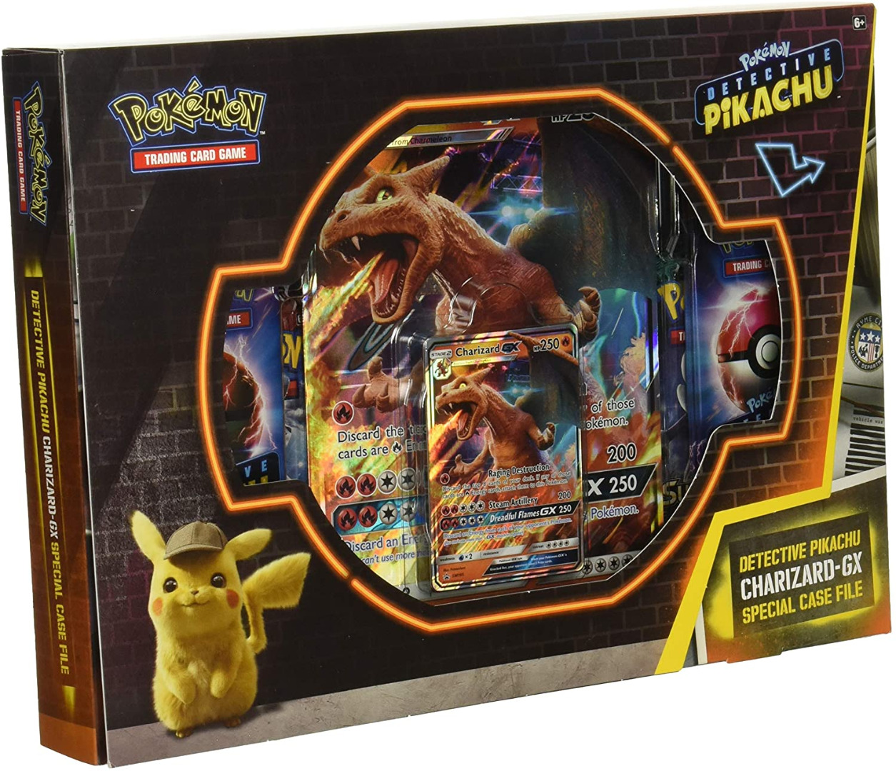 Pokémon Detective Pikachu Charizard-GX (English)