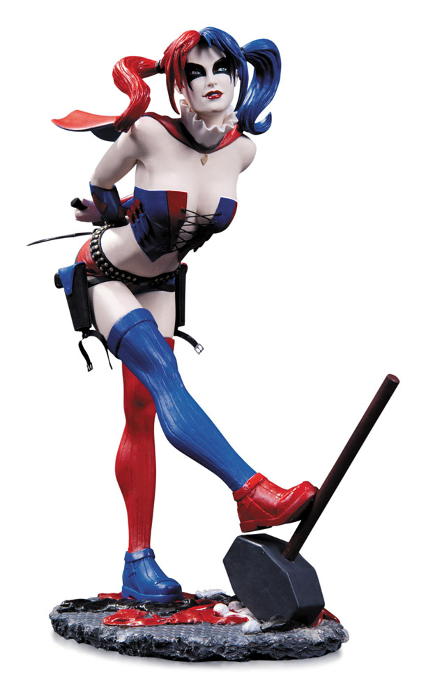DC Comics Cover Girls Statue Harley Quinn 2nd Edition 22 cm