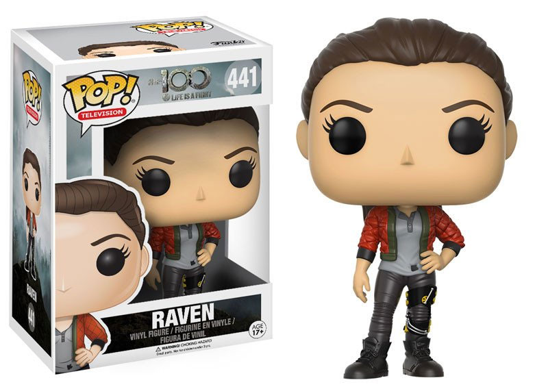 The 100 POP! Television Vinyl Figure Raven 10 cm