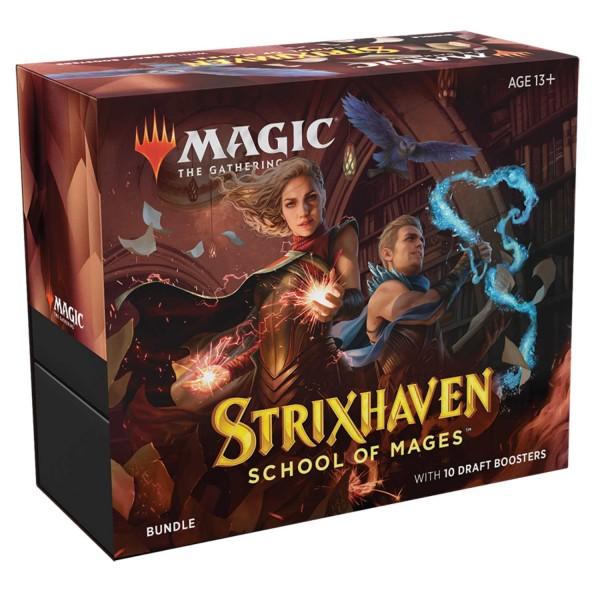 Magic The Gathering: Strixhaven: School of Mages Bundle (English)