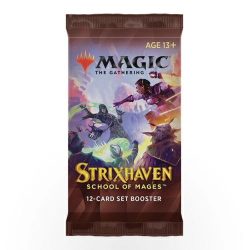 Magic the Gathering: Strixhaven: School of Mages Set Booster (English)
