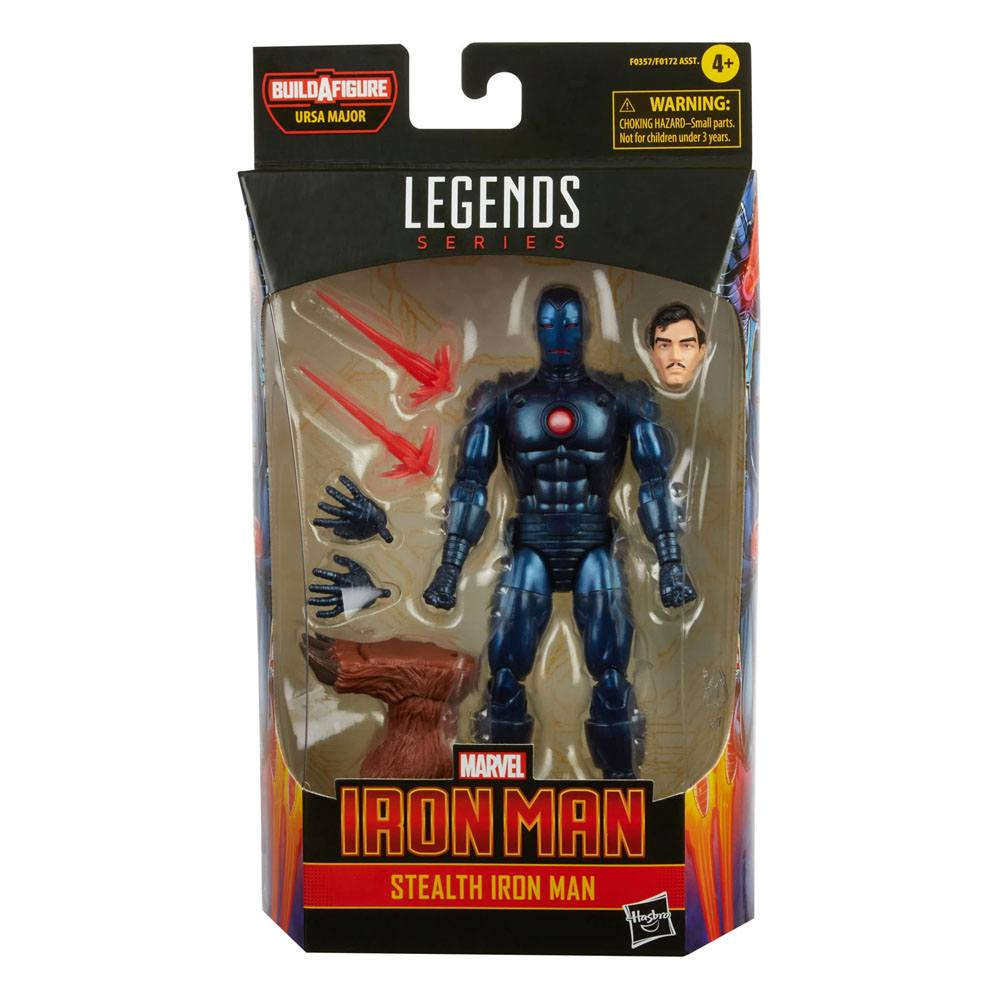 Marvel Legends Series Stealth Iron Man Action Figure 15 cm