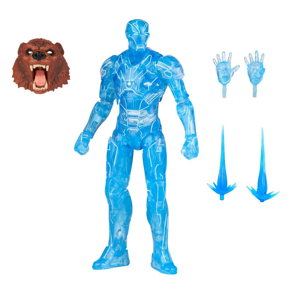 Marvel Legends Series Hologram Iron Man Action Figure 15 cm