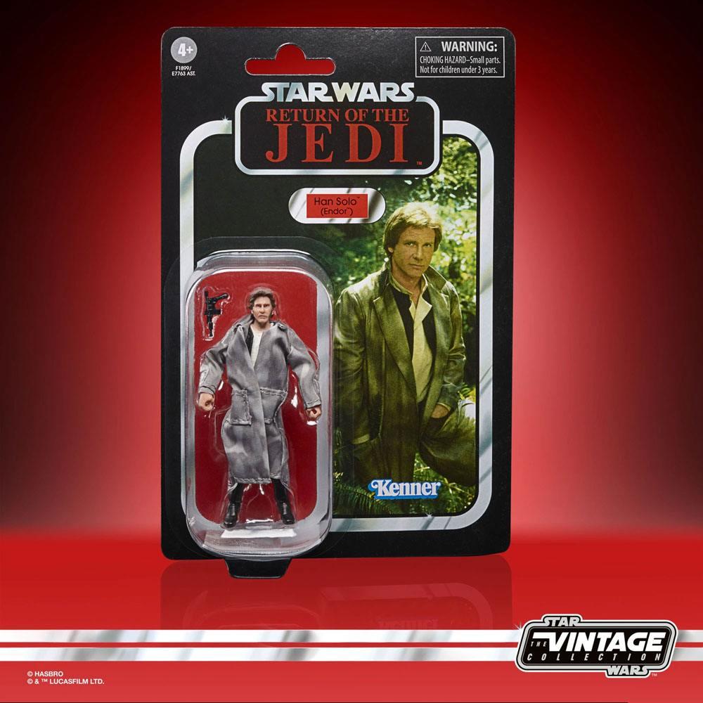 Star Wars Episode VI Vintage Collection Action Figure Han Solo (Endor) 10cm