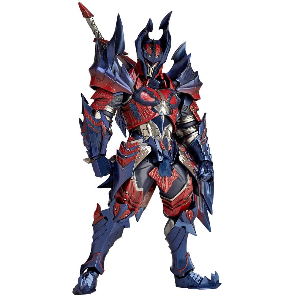 Monster Hunter X Vulcanlog Action Figure Male Swordsman Dino Series 18 cm