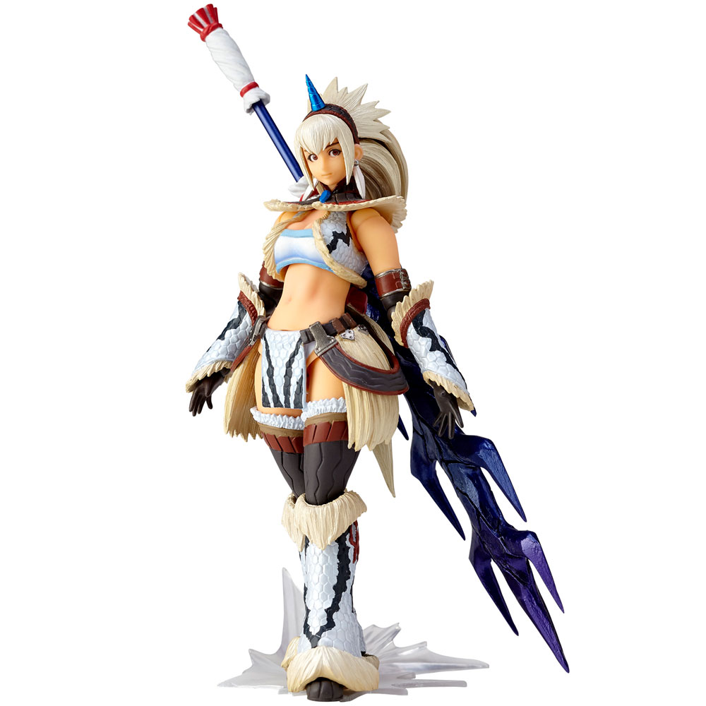 Monster Hunter X Vulcanlog Monhan Revo Act. Figure Hunter Swordswoman Kirin