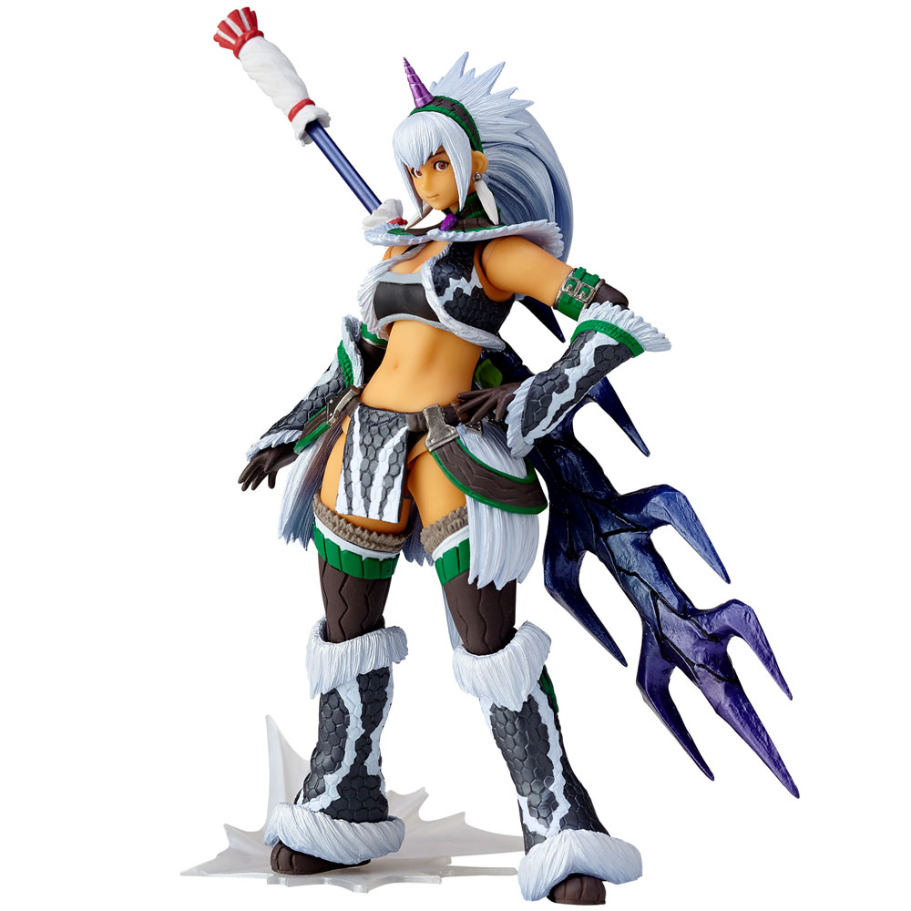 Monster Hunter X Vulcanlog Monhan Revo A. Figure Hunter Swordswoman Kirin U