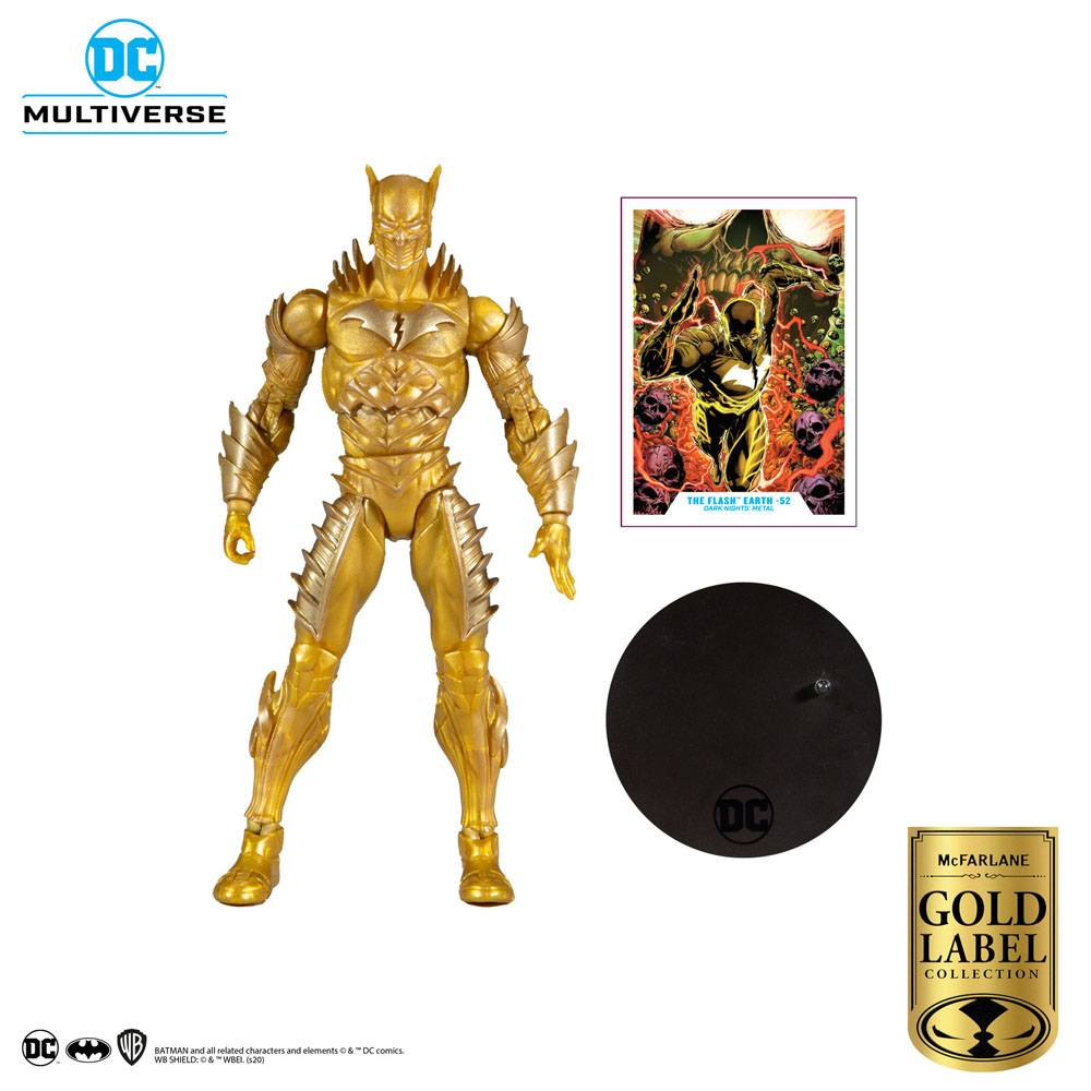 DC Multiverse Action Figure Red Death Gold (Earth 52) (Gold Label Series)