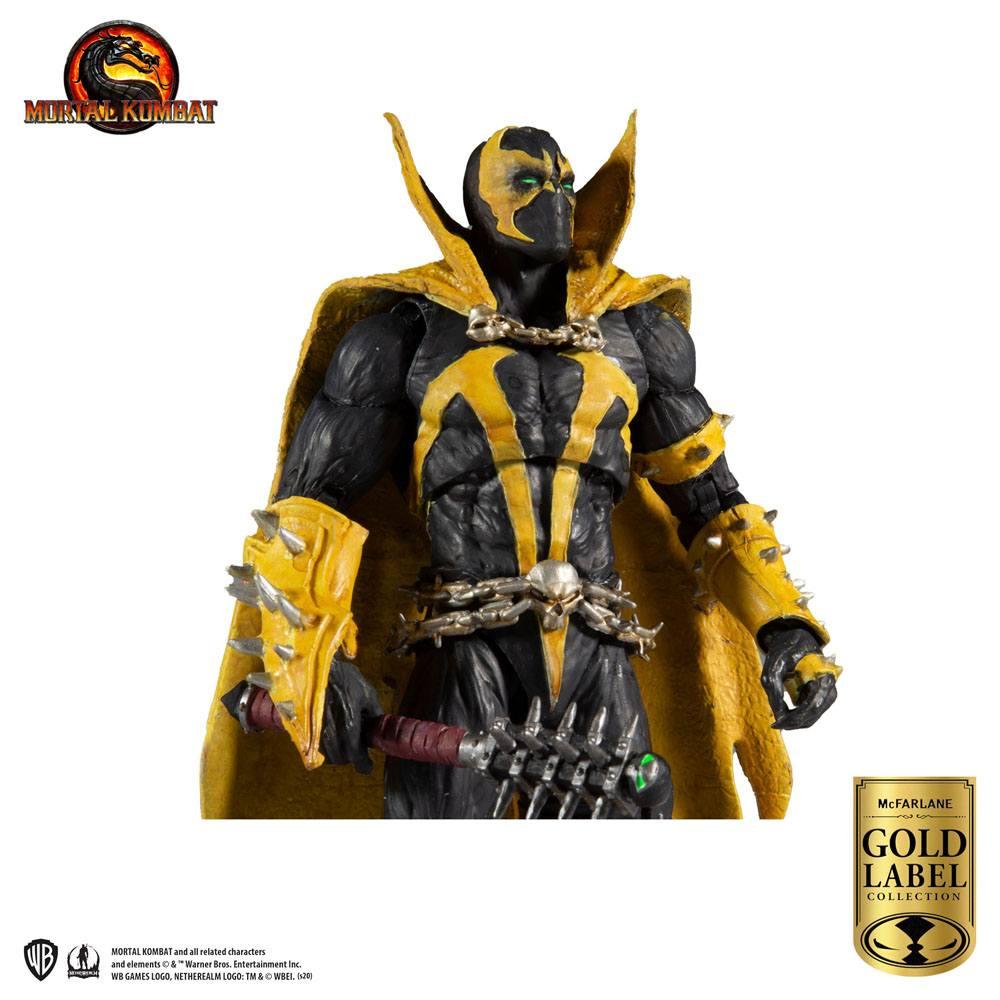 Mortal Kombat Action Figure Spawn (Curse of Apocalypse) (Gold Label Series)