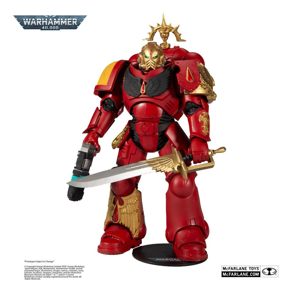 Warhammer 40k Action Figure Blood Angels Primaris Lieutenant 18 cm
