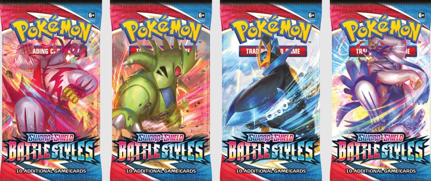Pokémon Battle Styles Booster English