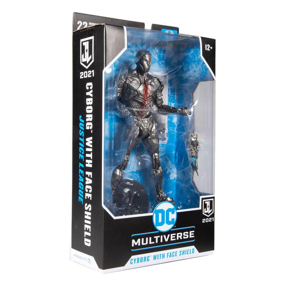 DC Justice League Movie Action Figure Cyborg (Helmet) 18 cm
