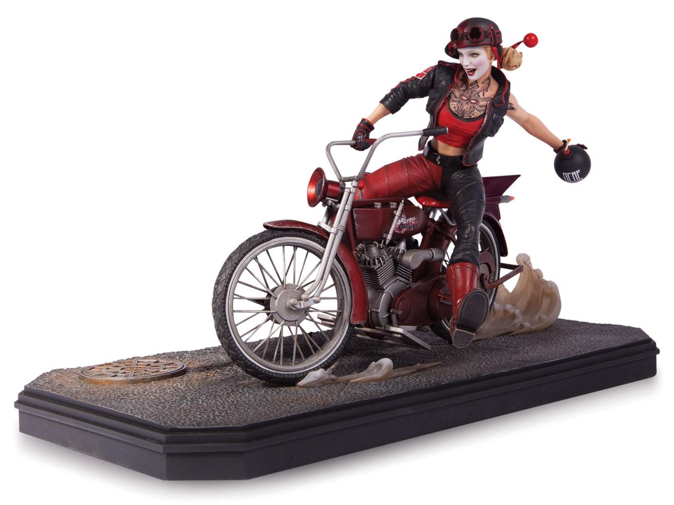 Gotham City Garage Statue Harley Quinn 22 cm