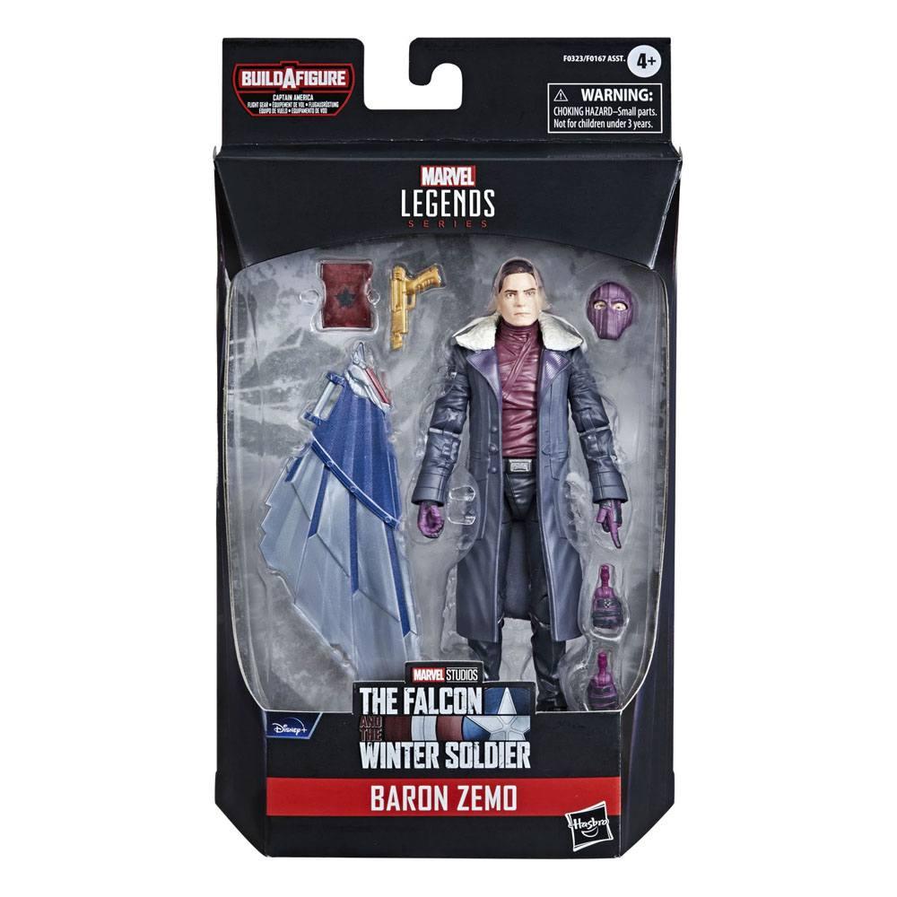 Avengers Marvel Legends Series Baron Zemo Action Figure 15 cm