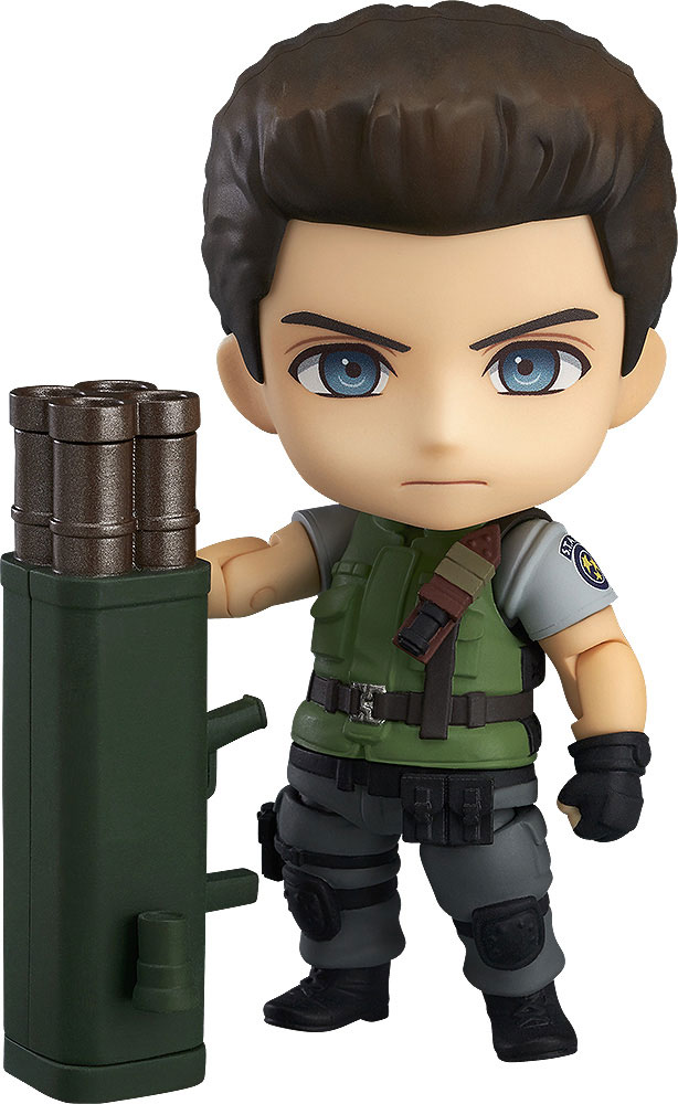 Resident Evil Nendoroid PVC Action Figure Chris Redfield 10 cm