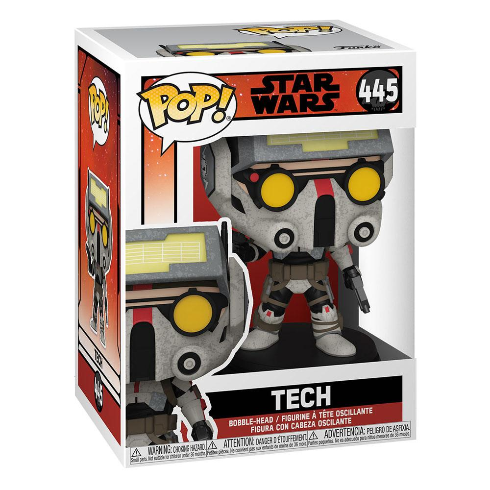 Star Wars: The Bad Batch POP! TV Vinyl Figure Tech 9 cm