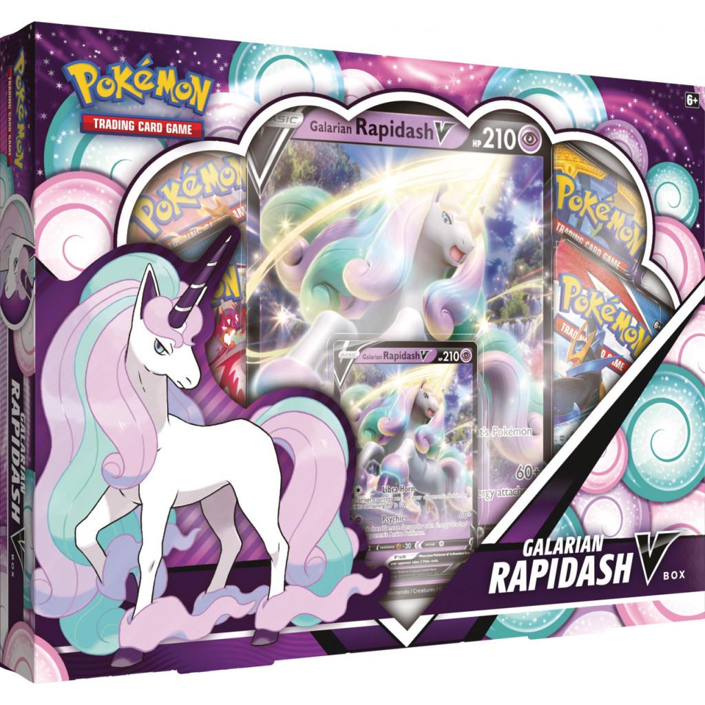 Pokémon - Galarian Rapidash May V Box (English)