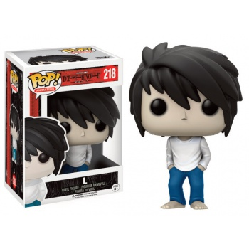 Funko POP! Animation Death Note - L Vinyl Figure 10 cm