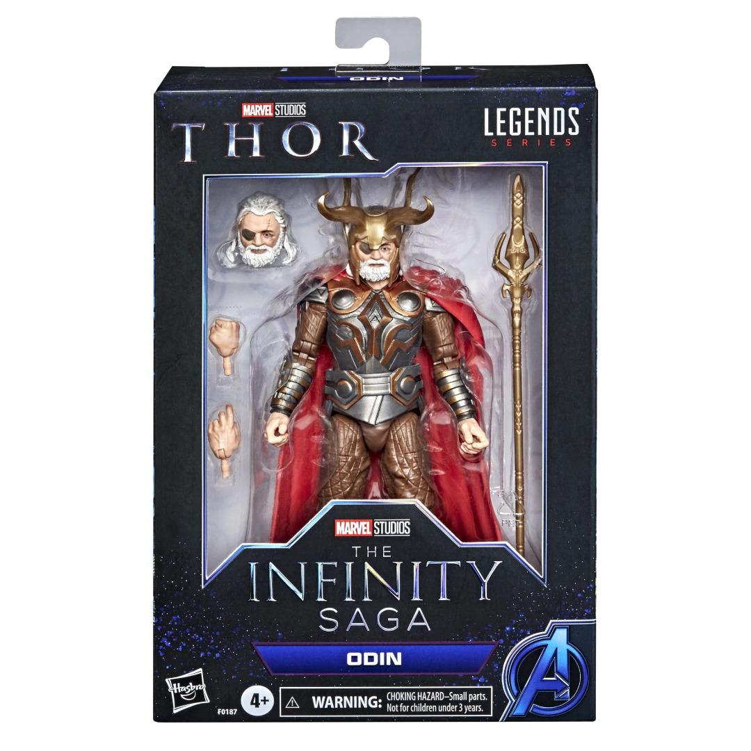 The Infinity Saga Marvel Legends Series Action Figure 2021 Odin (Thor) 15cm