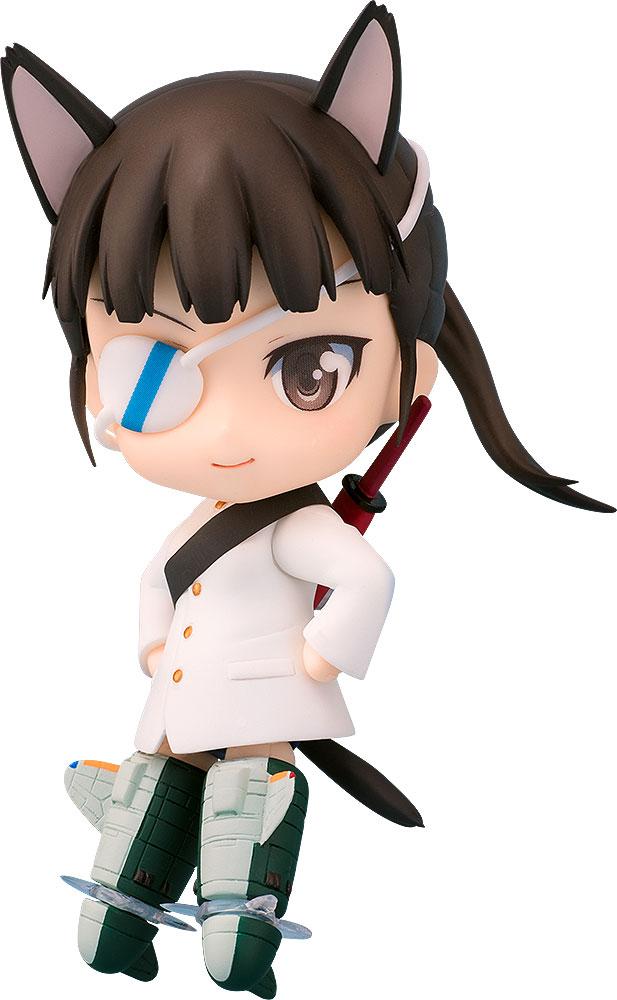 Strike Witches Nendoroid PVC Action Figure Mio Sakamoto 10 cm