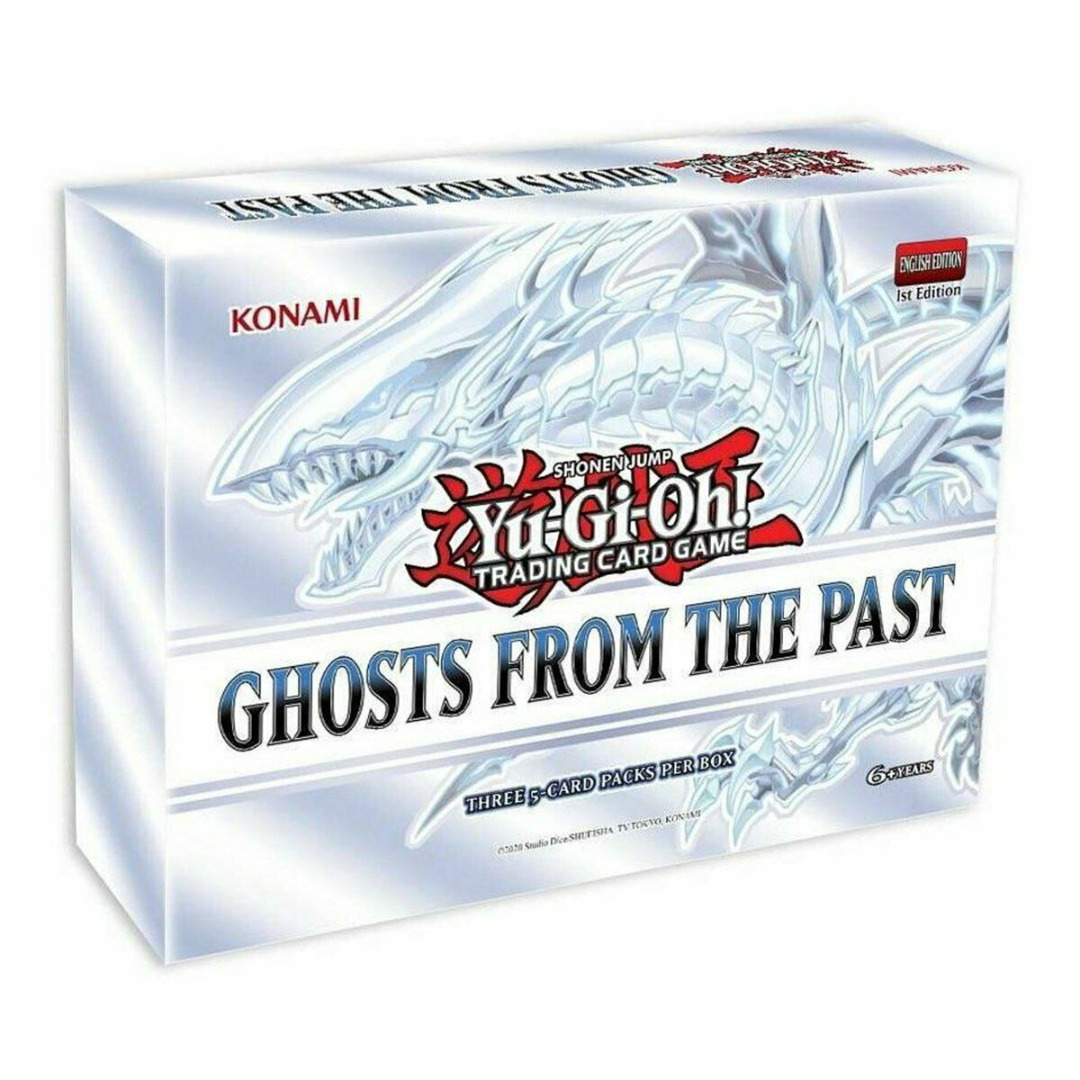 Yu-Gi-Oh! Ghosts From the Past 3-Boosters Set 1st Edition (English)