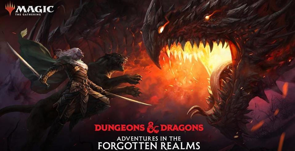 Magic the Gathering: Forgotten Realms Commander Deck Dungeons of Death EN