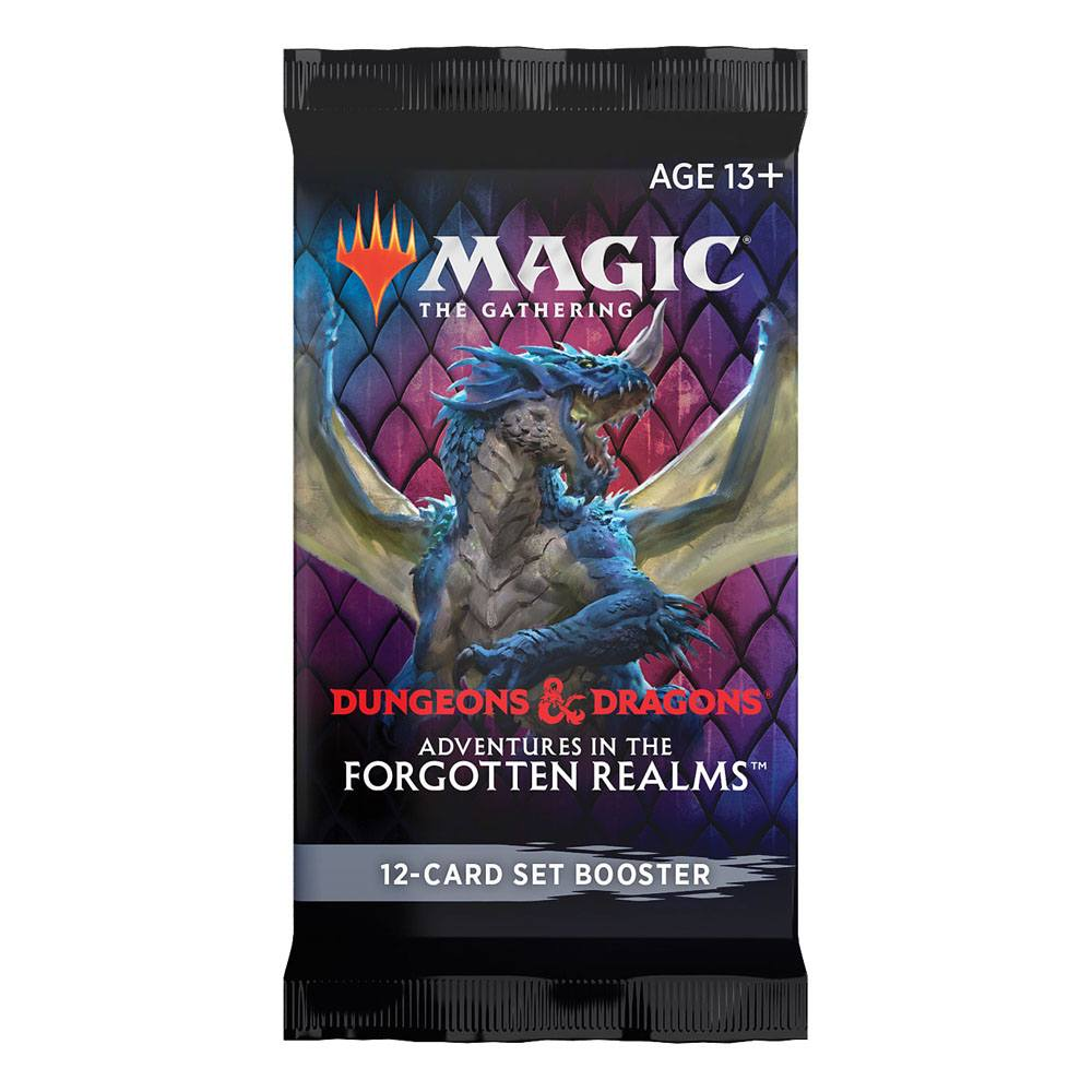 Magic the Gathering: Adventures in the Forgotten Realms Set Booster EN