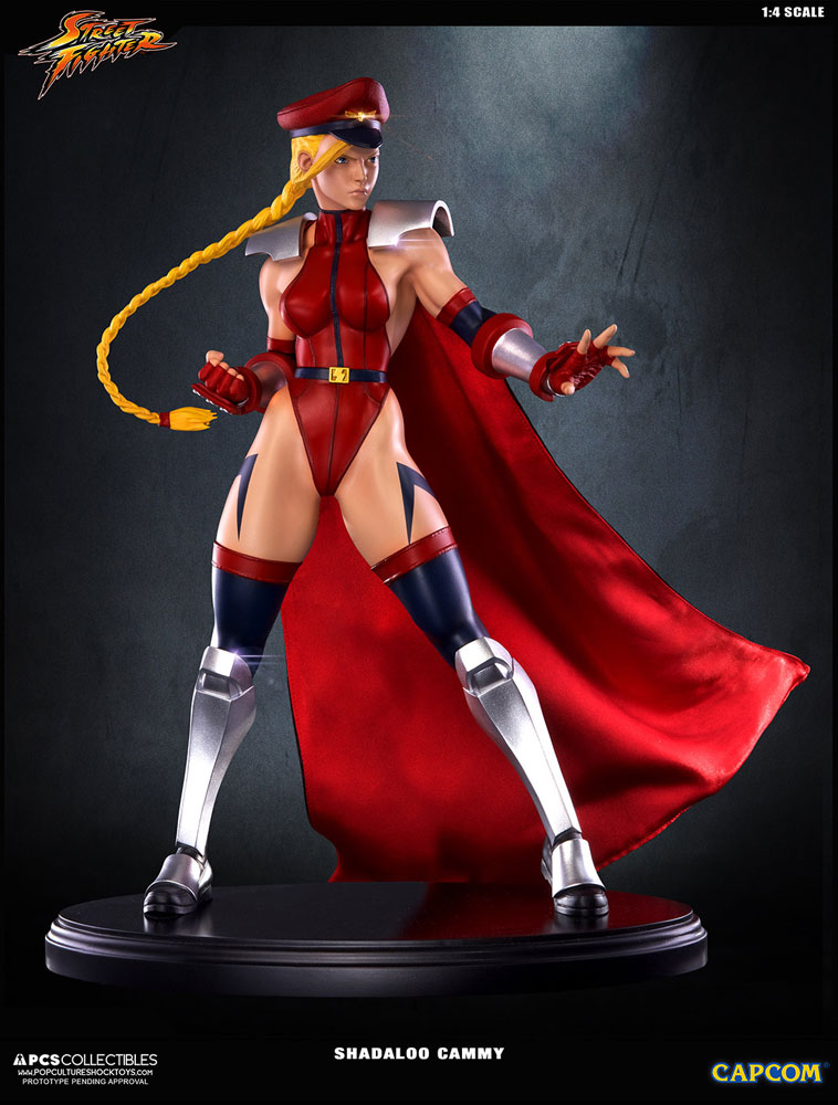Street Fighter IV Statue 1/4 Shadaloo Cammy 43 cm