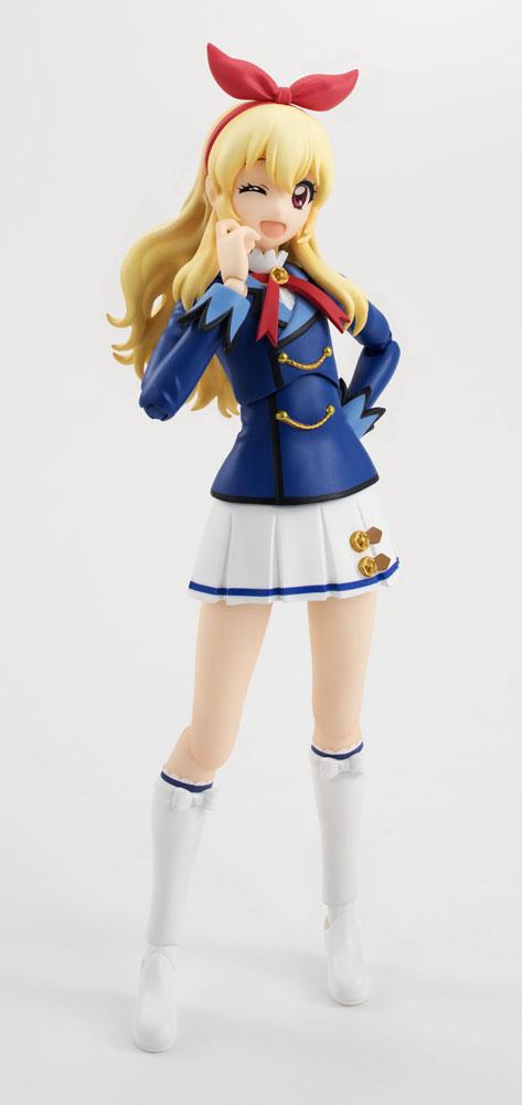 Aikatsu! S.H. Figuarts Action Figure Ichigo Hoshimiya Winter Uniform 13 cm