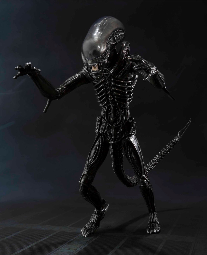 Alien S.H. MonsterArts Action Figure Big Chap Alien 18 cm