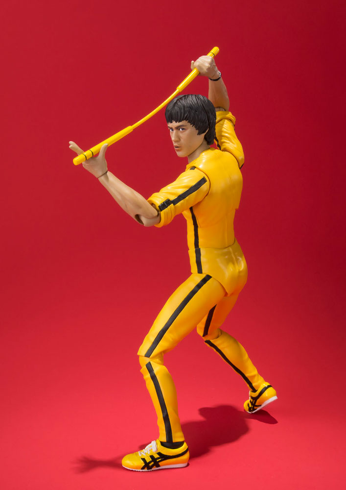 Bruce Lee S.H. Figuarts Action Figure Yellow Track Suit 14 cm