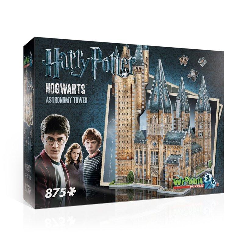 Harry Potter 3D Puzzle Astronomy Tower 875 peças