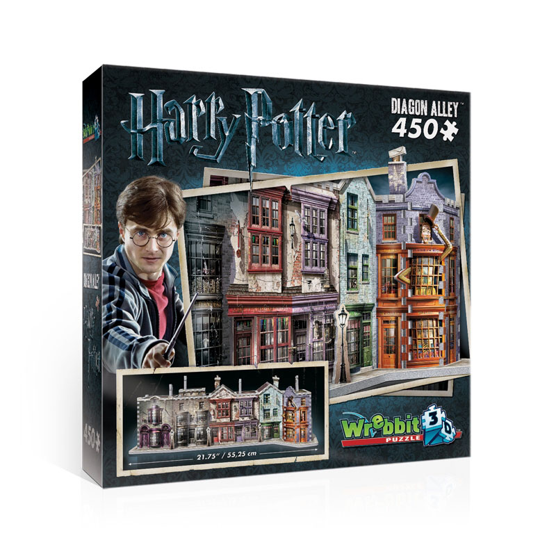 Harry Potter 3D Puzzle Diagon Alley 450 peças