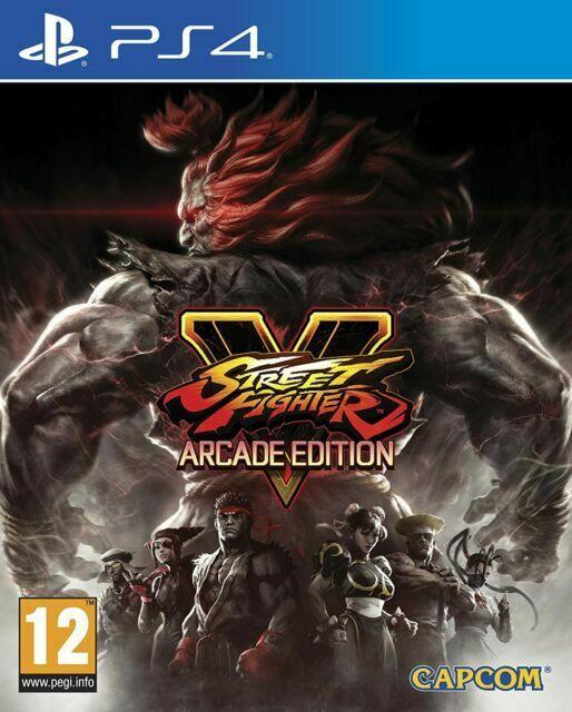 Street Fighter V - Arcade Edition PS4 (Novo)