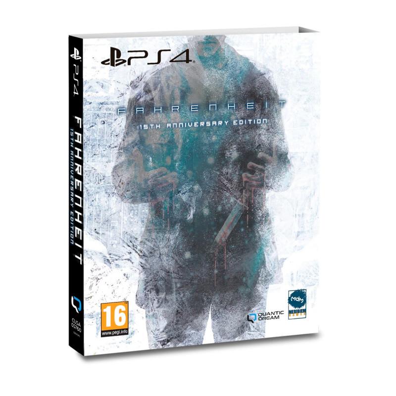 Fahrenheit 15th Anniversary Edition PS4 (Novo)