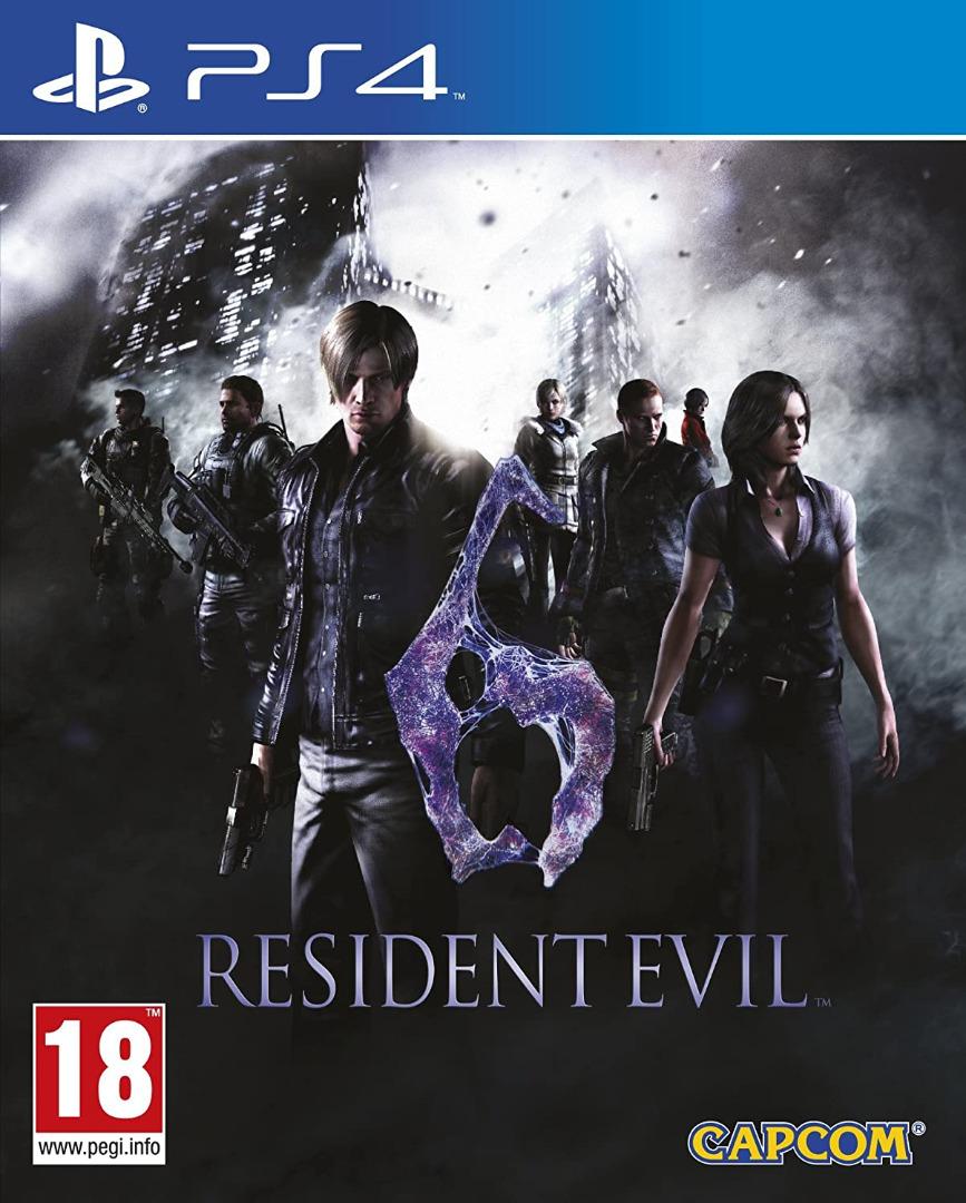 Resident Evil 6 PS4  (Novo)