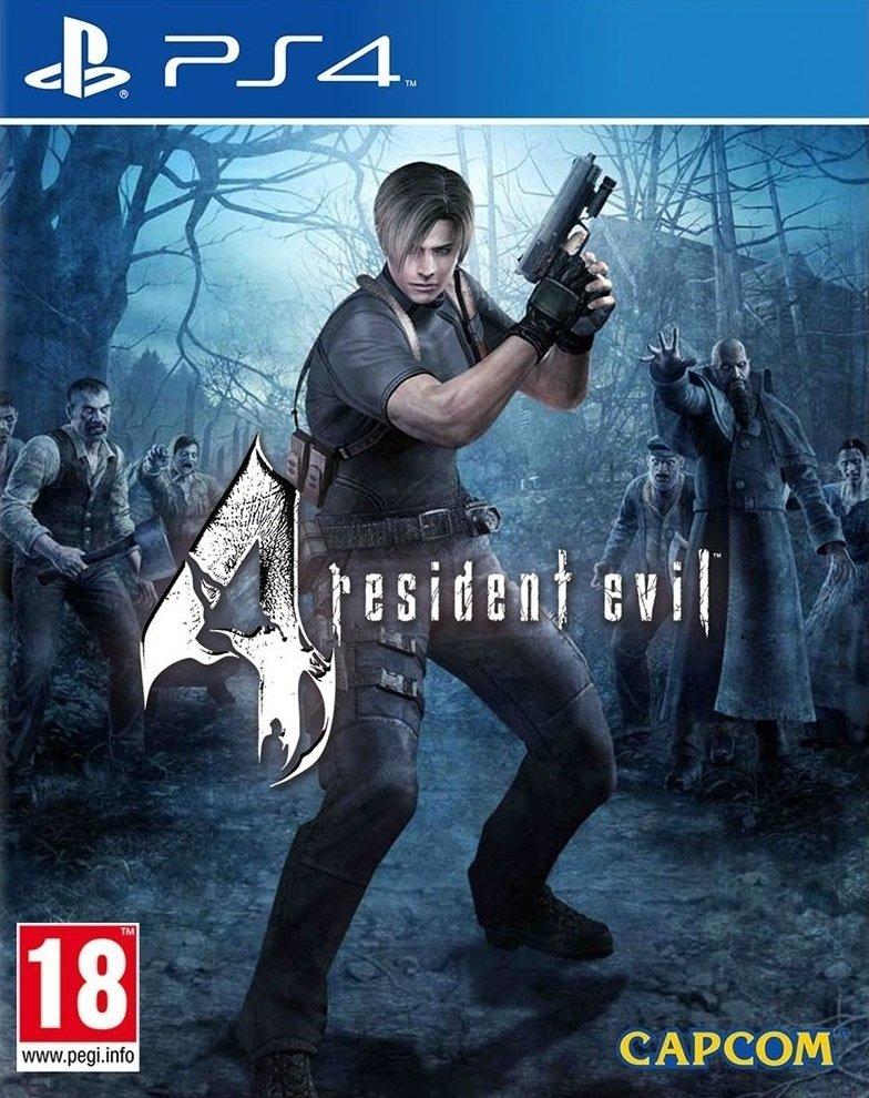 Resident Evil 4 PS4 (Novo)