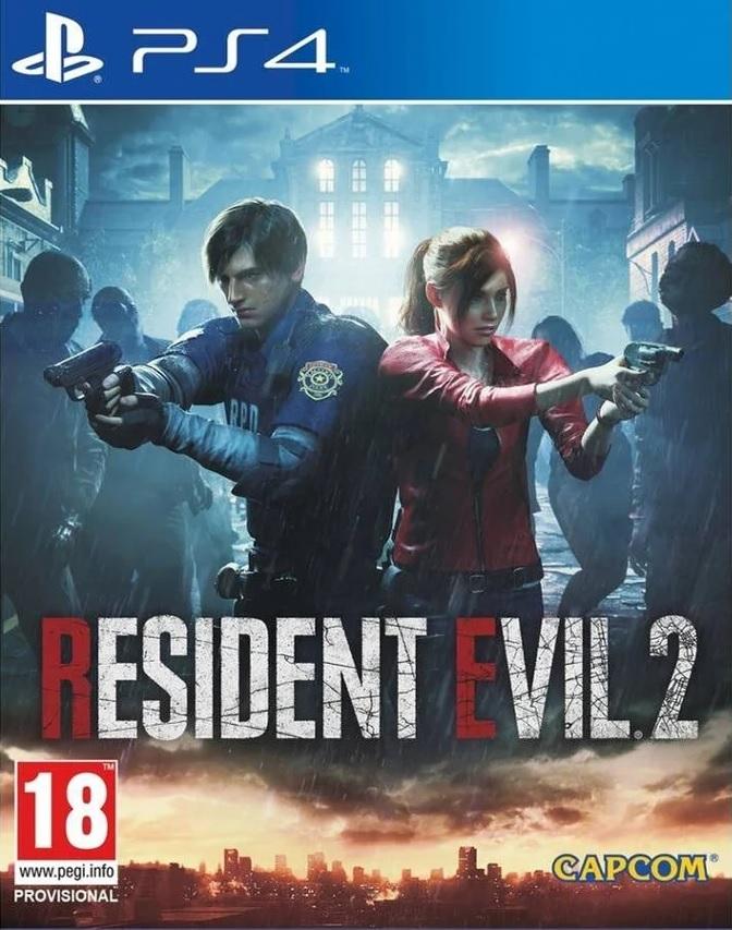 Resident Evil 2 PS4 (Novo)